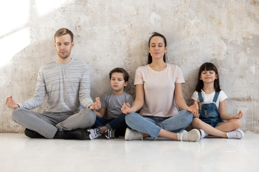 Family Yoga at Health and Exercise Matters