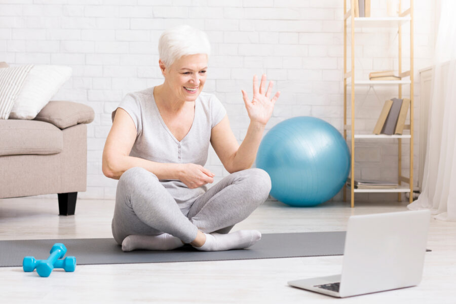Live-streamed Physiotherapy Led Pilates