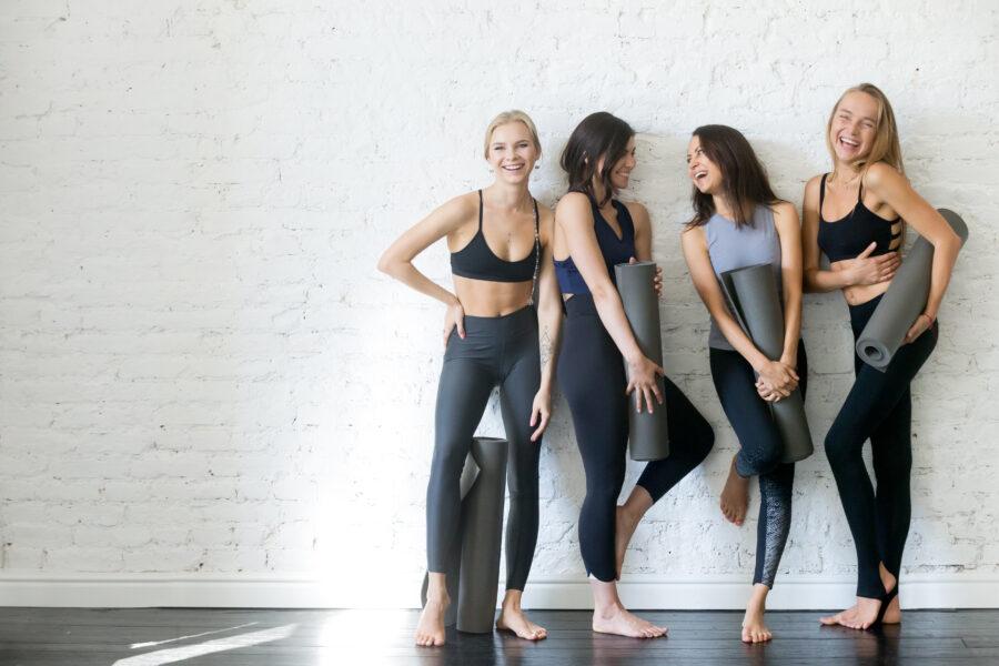 In-Studio Social bubble fitness